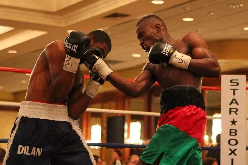 23 bouts, 18 wins, 7 K.O… / Career of Issouf Kinda, from Burkina-Faso to the USA