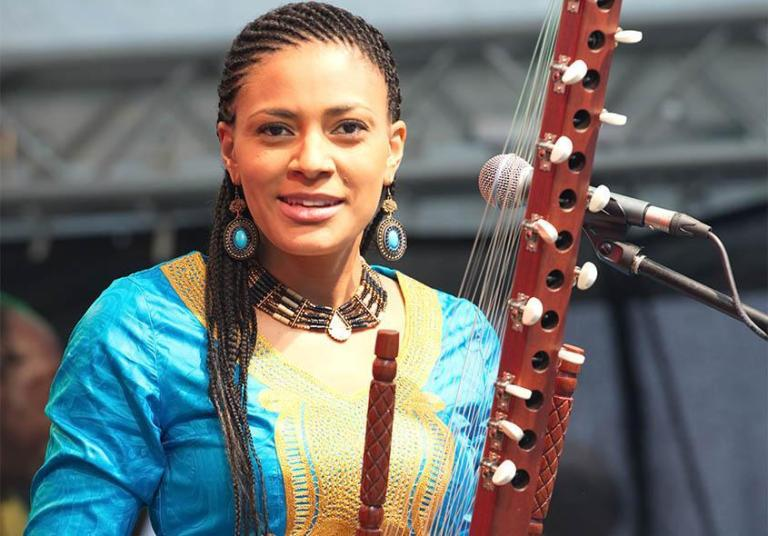 Sona Jobarteh: Who is this woman contesting the exclusivity of Kora to men?