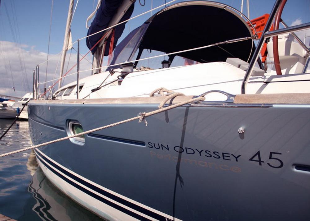Yacht For Sale Gt Sailing Boat Jeanneau Sun Odyssey 45