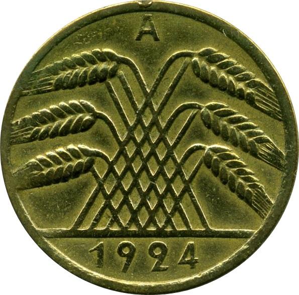 10 Rentenpfennig Germany 1871 1948 Numista