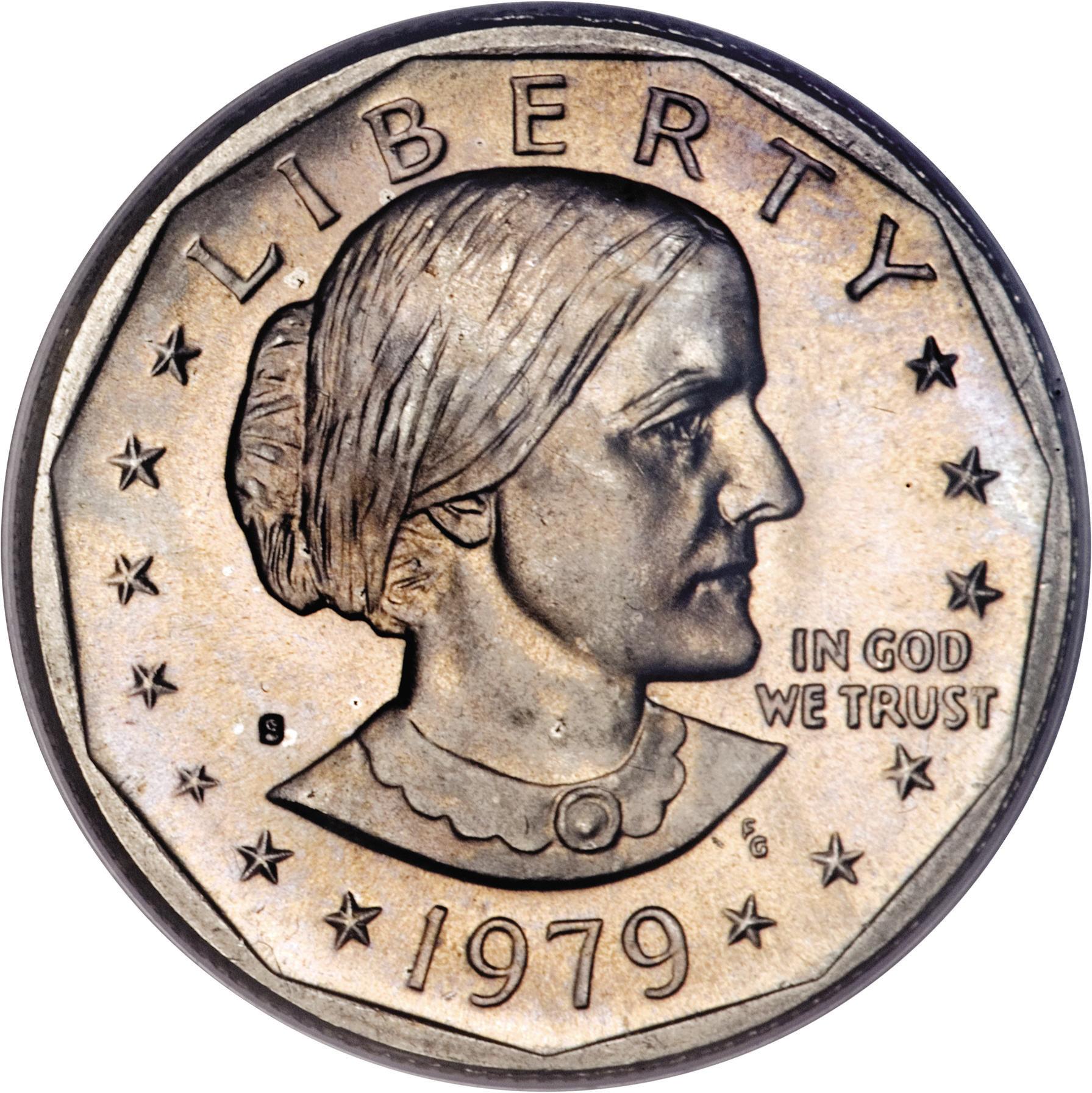 1 Dollar Susan B Anthony Dollar