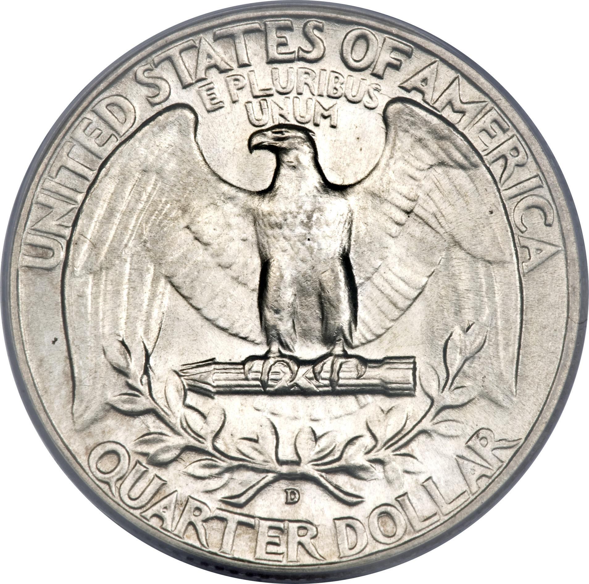Dollar Washington Silver Quarter