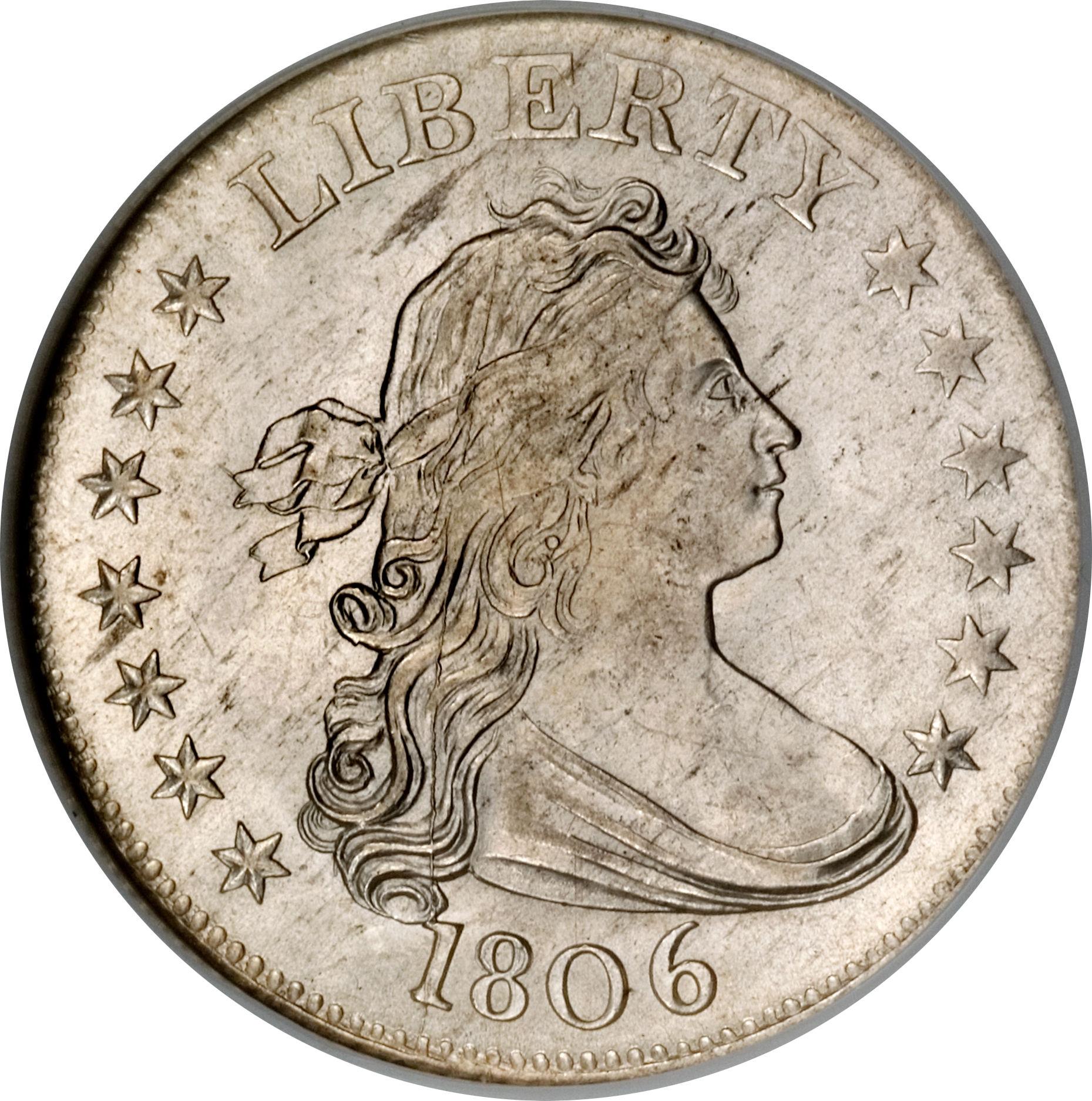 25 Cents D D Bust Quarter