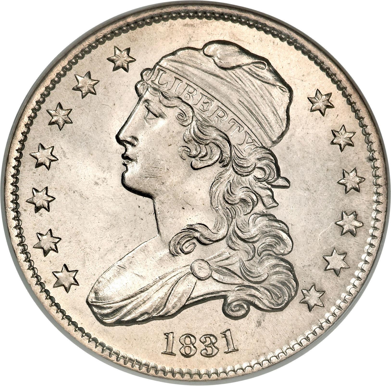 25 Cents Liberty Cap Quarter Without Motto