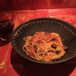 Spaghetti Puttanesca & Sangria