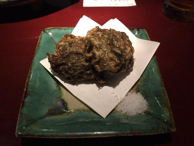 Mozuku Tempura (Deep-fried Seaweed)
