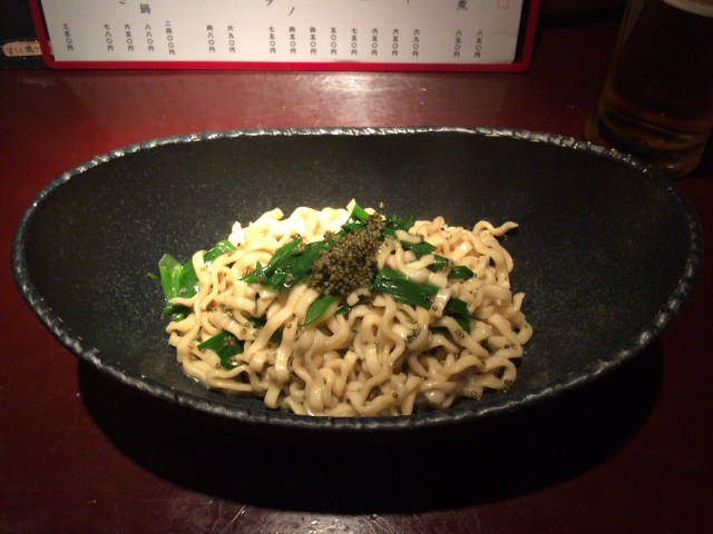 Original Pasta Using Okinawa Soba Noodle