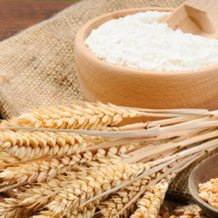 Wheat starch flour
