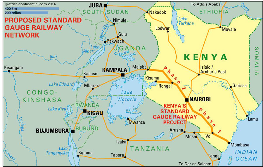 Kenya inks new deal to extend China-funded high speed railway