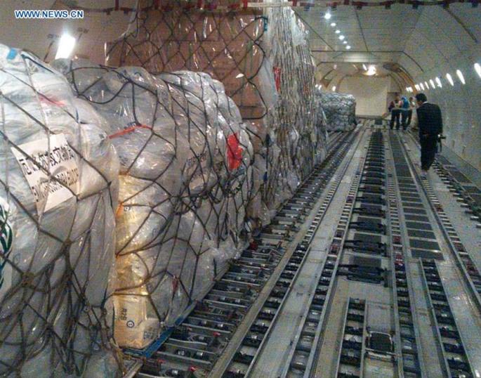China delivers humanitarian aid to quake-hit Ecuador