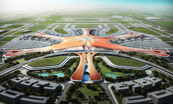 New Beijing airport to feature subterranean high-speed rail