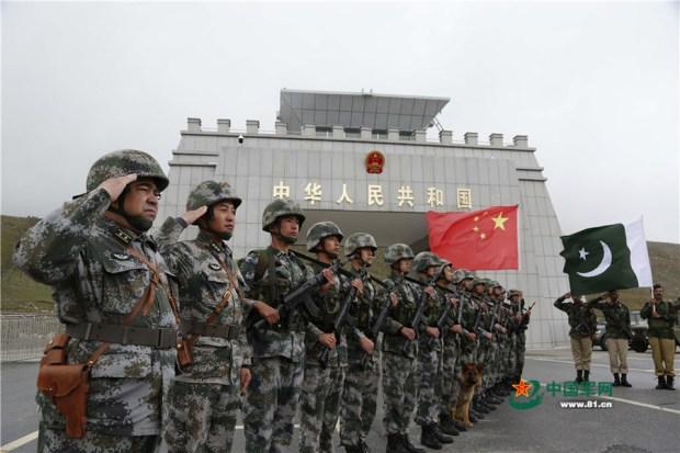 Joint patrol along China-Pakistan border