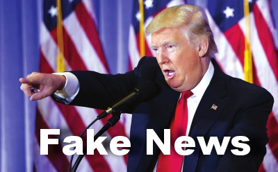 Image result for trump fake news
