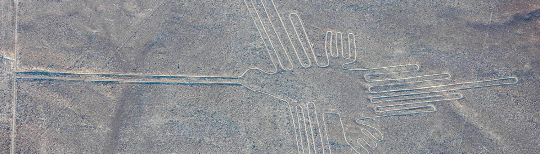 Nazca Linien Kolibri
