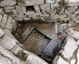 Fountain in Machu Picchu