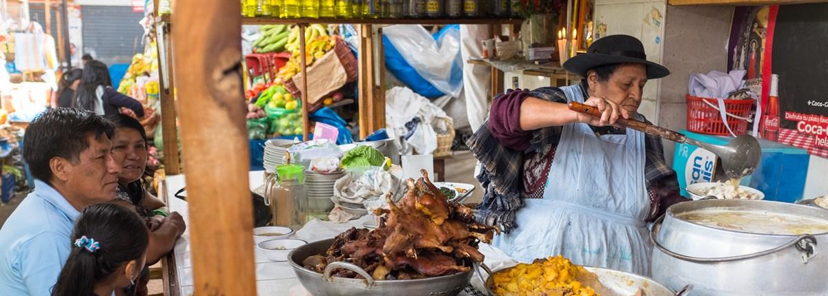 Food Market Cajamarca