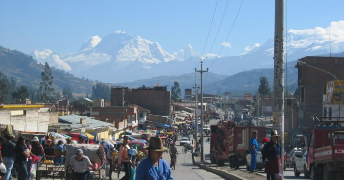 Huaraz – the gateway to the peaks of the Cordillera Blanca