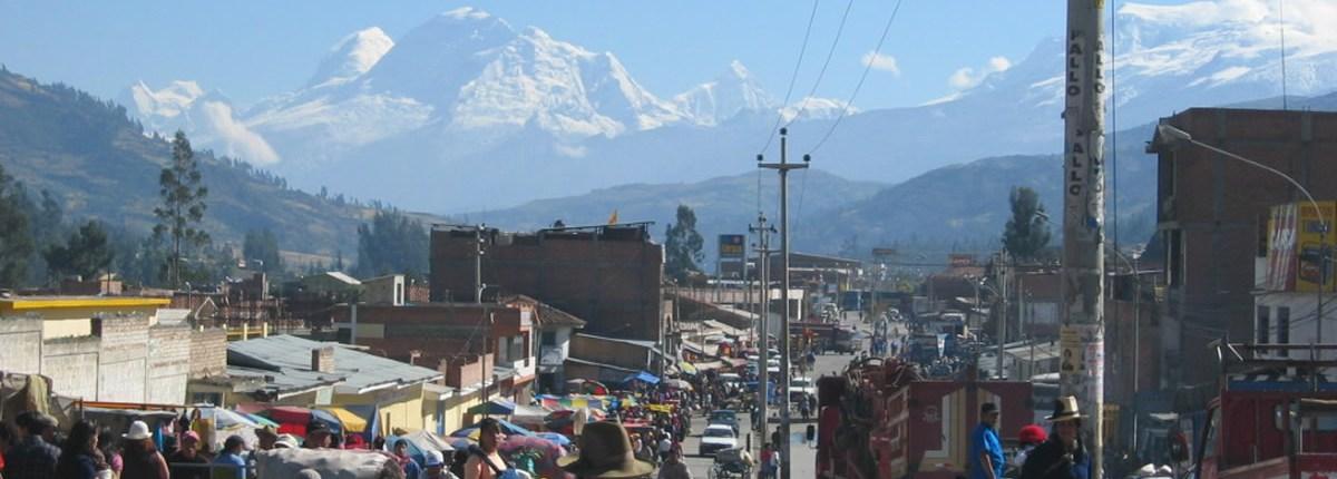 Huaraz view