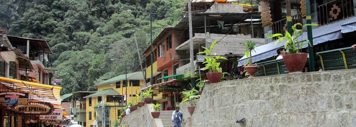 Aguas Calientes – the gateway to Machu Picchu