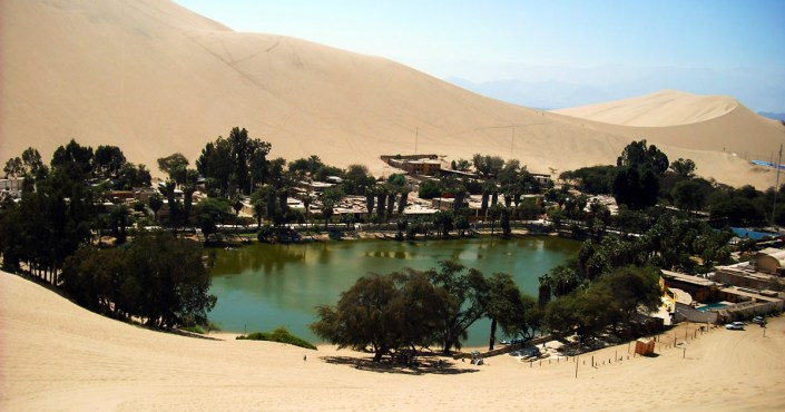 Huacachina – an oasis in the middle of the Peruvian desert