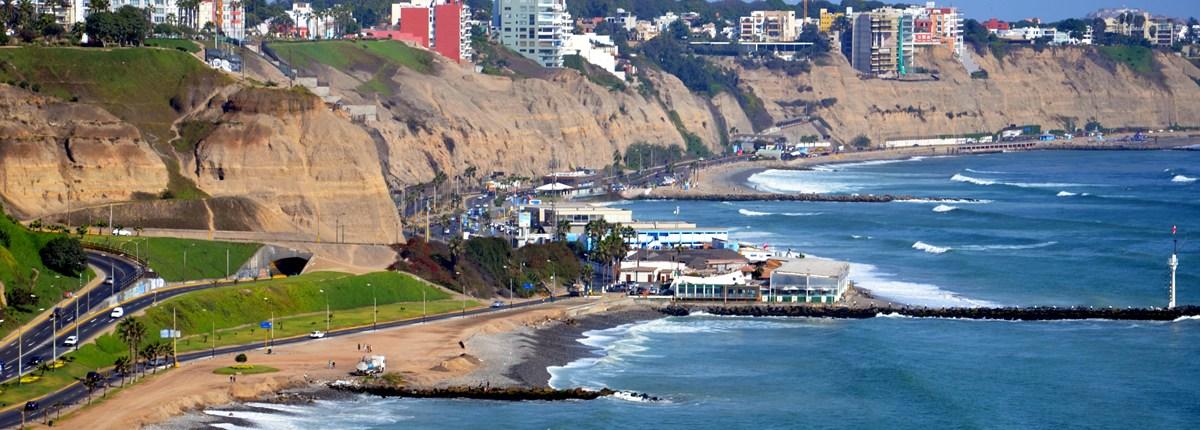 Lima Peru - Barranco Skyline
