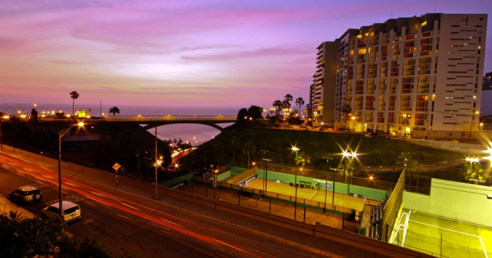 Miraflores – the district of the beautiful and wealthy in Lima