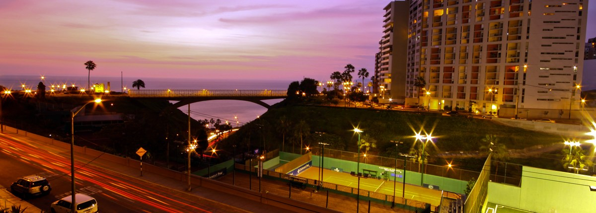 Miraflores - the district of the beautiful and wealthy in Lima