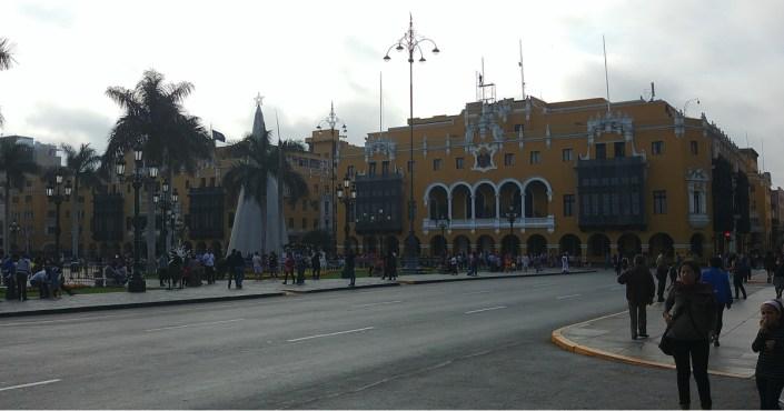 The Club de la Unión in Lima - exclusive meeting place