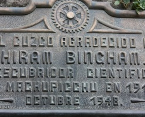 Hiram Bingham: CV of an explorer