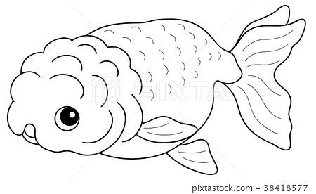 goldfish coloring page # 51