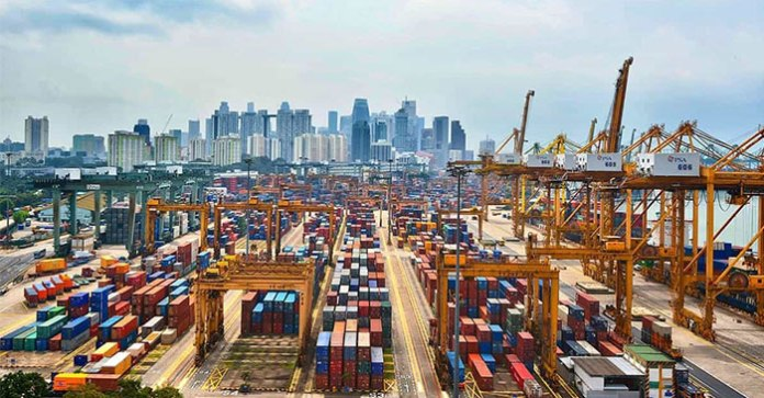 Singapore's exports rebound 6.8% in December