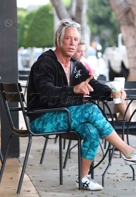 Mickey Rourke Hard To Believe That Once Upon A Time He