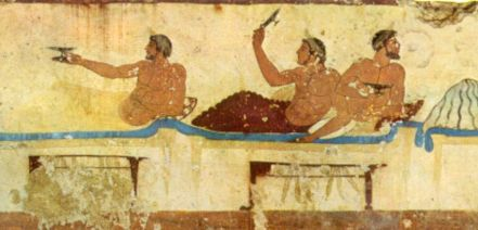 Image result for ancient greek party