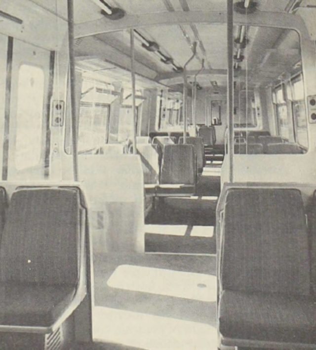 "Saloon interior of a class ""508"" unit"