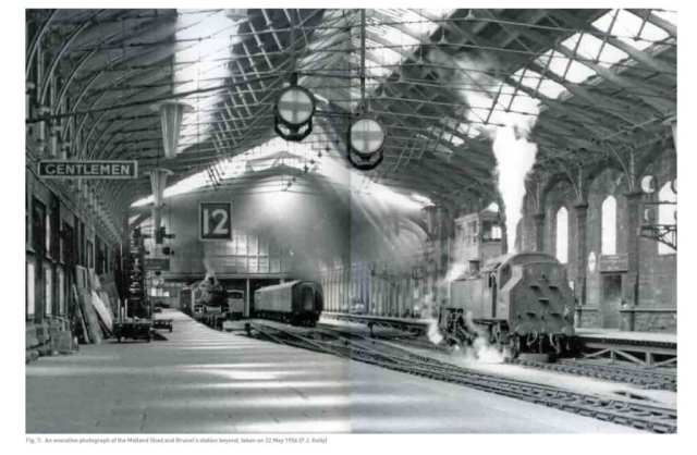 Bristol Temple Meads Midland Shed