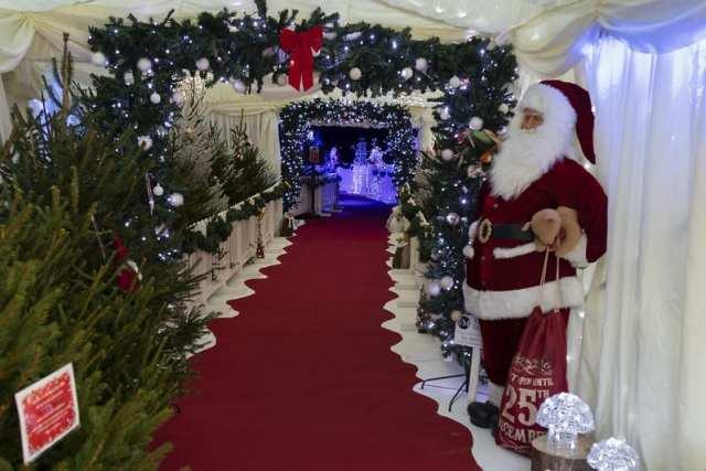 Santa's grotto at North Norfolk Railway