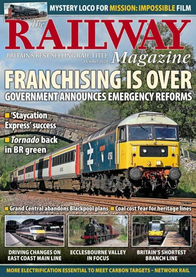October edition of The Railway Magazine