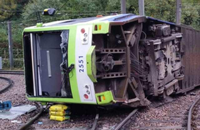 Tram derailed in 2016