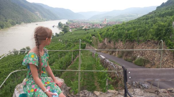 Shooting in the wine region Wachau
