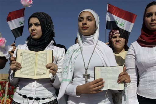 Image result for christian and muslim