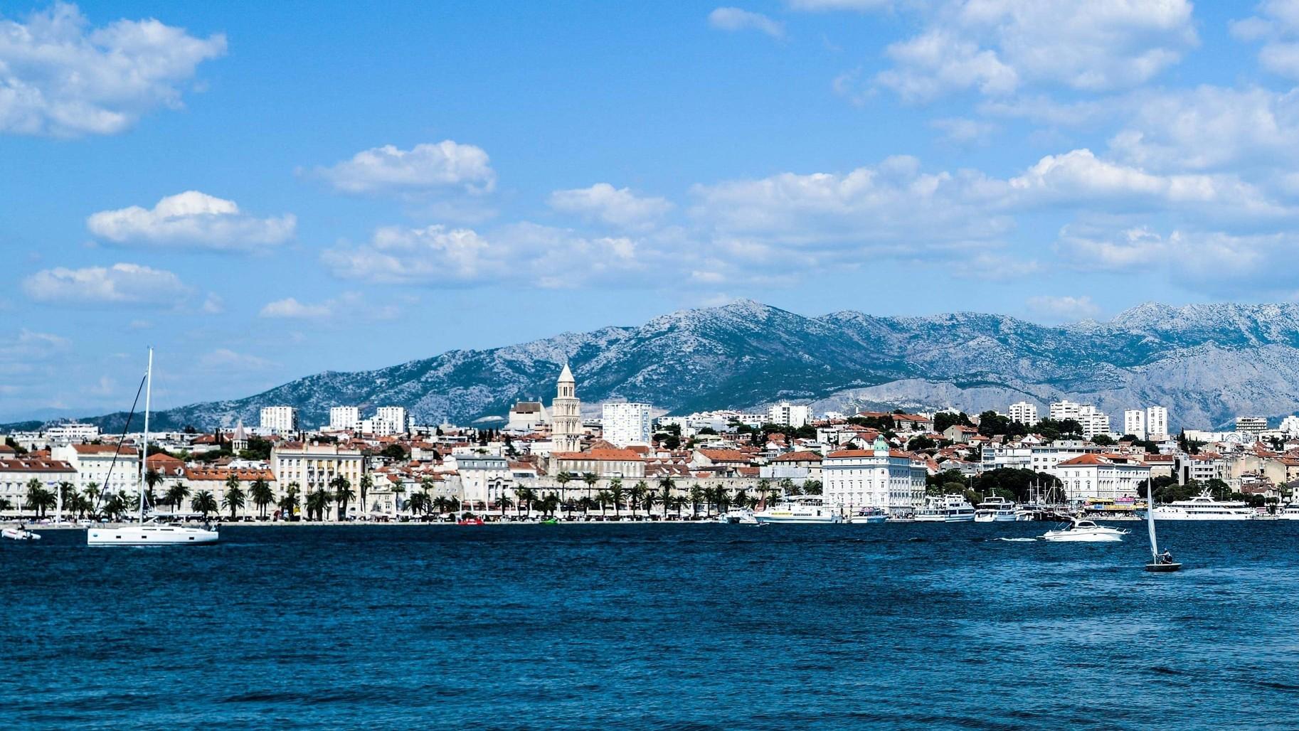 view of Split Croatia