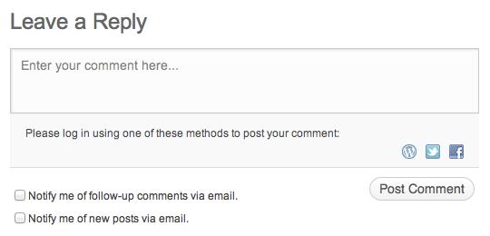 comments support wordpress com