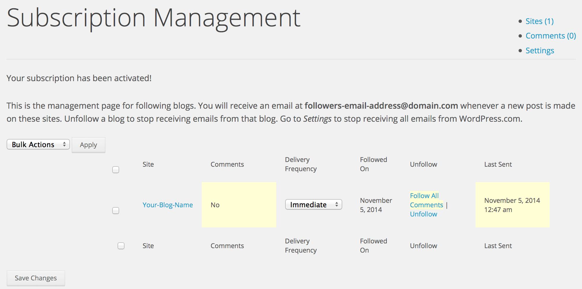 subscription-management