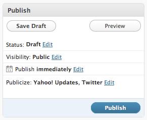 Nueva apariencia de WordPress