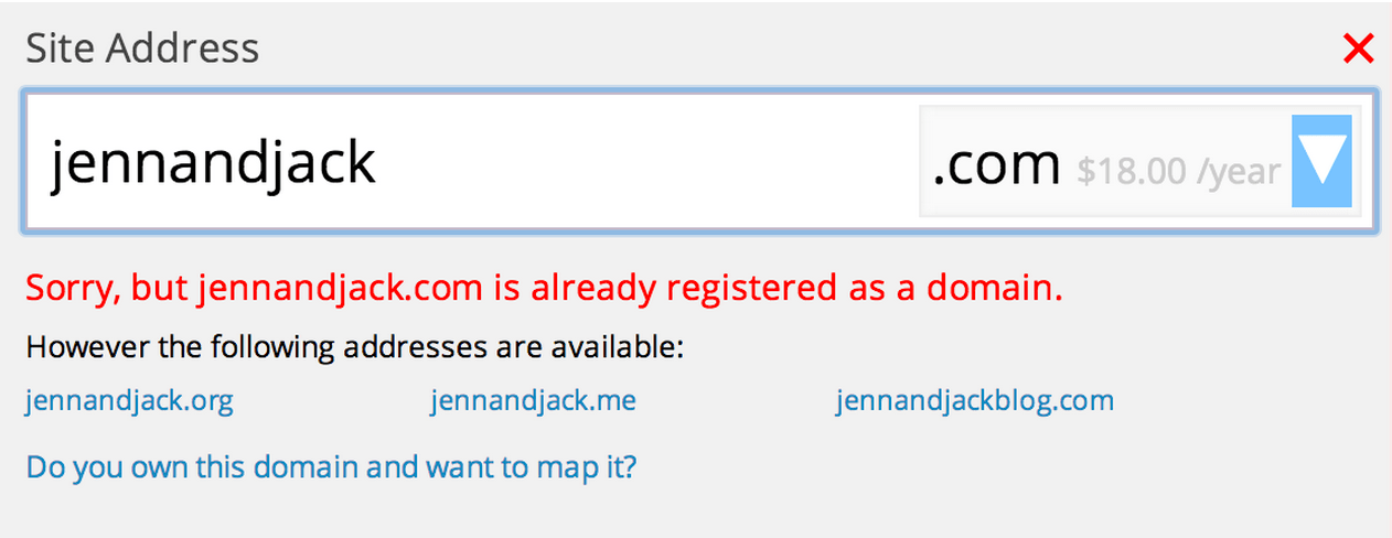 custom address