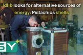Idlib looks for alternative sources of energy: Pistachios shells