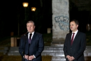 "<h5>Thanks GeoEmbGermany</h5><p>Giorgi Kvirikashvili, Prime minister Georgia (l), Lado Chanturia, embassador of Georgia in Germany © <a href=""https://twitter.com/GeoEmbGermany/status/928663514306277376"" target=""_blank"">Embassy of Georgia in Germany/Twitter</a></p>"