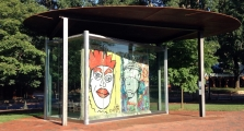 "<h5>The Berlin Wall in Charlottesville, Virginia</h5><p>Details, Copyright:  <a href=""http://en.the-wall-net.org/?p=648"">Charlottesville, VA</a> / more <a href=""http://en.the-wall-net.org/category/the-berlin-wall/us/"" >sites in the USA</a></p>"