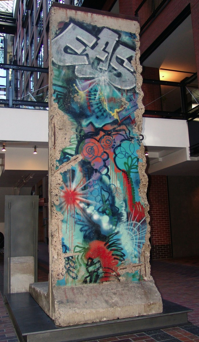 The Berlin Wall in Montreal, Canada
