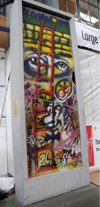 The Berlin Wall in Seattle, Washington